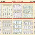 Elif-Ba Posterli Egitim Seti